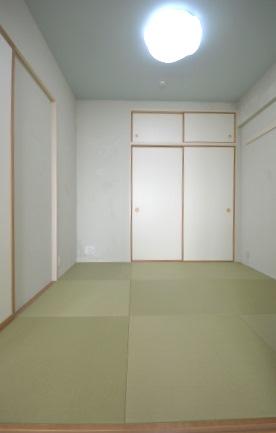 アフター 和室 子供部屋 珪藻土.JPG
