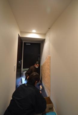 エコカラット 施工現場 マンション.JPG