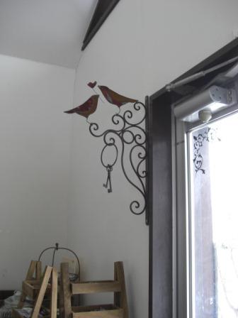 ステンド アイアン 壁飾り.JPG