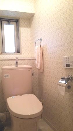 マンション トイレ リフォーム アフター 20140805.JPG