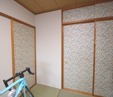 マンション 和室 リフォーム カラフル20150328.JPG