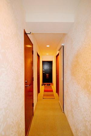 マンション 廊下 カーペット張替 20150428.JPG