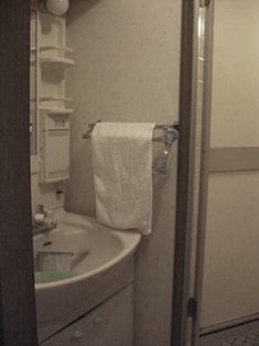 マンション 洗面 施工前 リフォーム 20150428.JPG