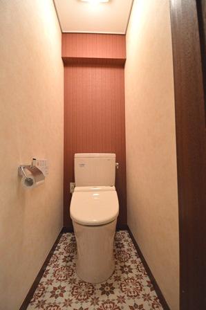 モロッコタイル風 エキゾチック トイレ.JPG