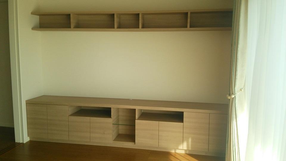 上棚付き造作TVボード.JPG