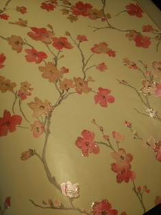 和 花 枝木 壁紙 桃色.JPG