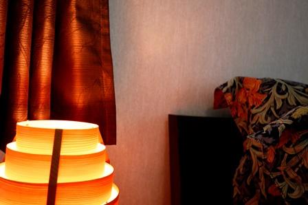 寝室 クロス貼り替え サンゲツ 20150710.JPG