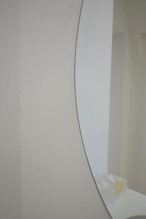 洗面台 楕円 ミラー.JPG