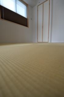 畳 ダイケン 和紙 黄金色.JPG