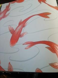 鯉 壁紙 和 モダン.JPG