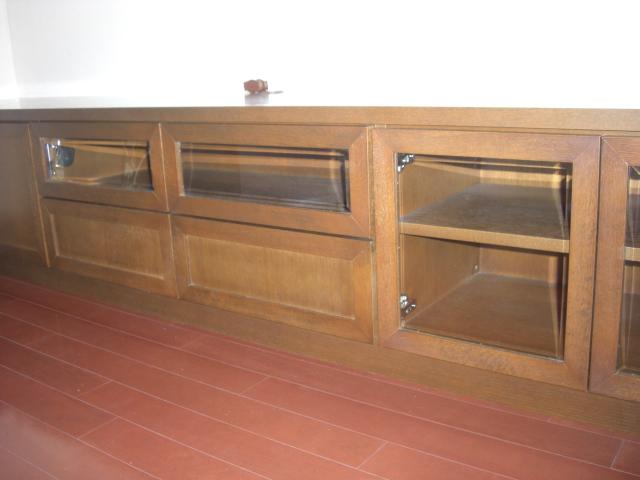 TVボード 突板.JPG