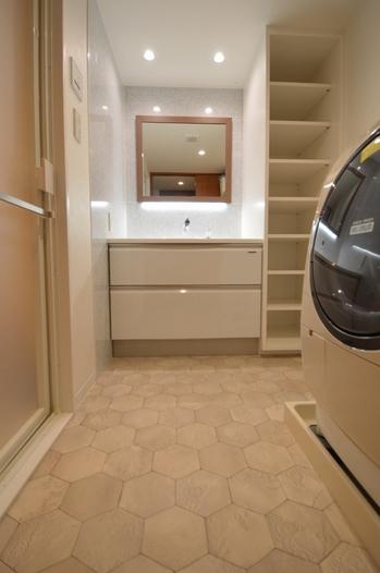 洗面脱衣室 リフォーム 洗面台 20190106.jpg